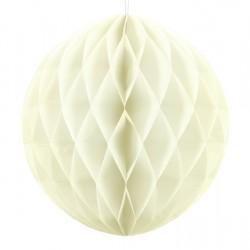 Light Cream Honeycomb Hanging Decoration Ball