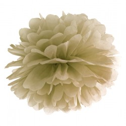 Gold Tissue Paper Pompom