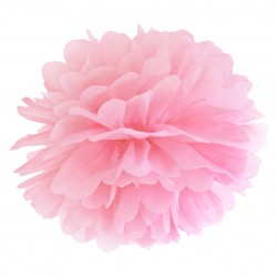 Light Pink Tissue Paper Pompom
