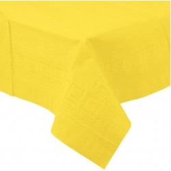Yellow Paper Tablecovers, Yellow Paper Table Cloth