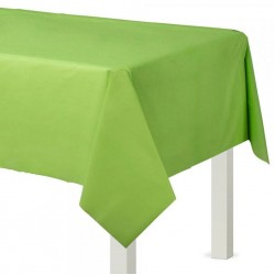 Kiwi Green Paper Tablecovers, Green Paper Table cloth