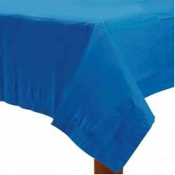Royal Blue Paper Tablecovers, Royal Blue Paper Table Cloth