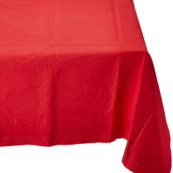 Red Paper Tablecovers, Red Paper Table cloth