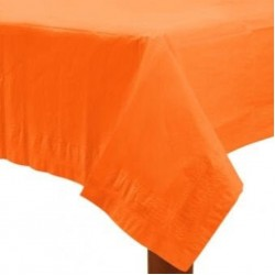 Orange Paper Tablecovers, Orange Paper Table cloth
