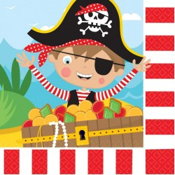 Pirate Party Napkins Little Pirate