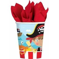 Pirate Part Paper Cups