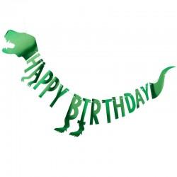 Happy Birthday Party Dinosaur Bunting