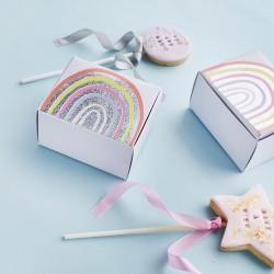 Rainbow Cake Favour Boxes
