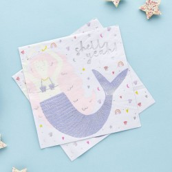 Enchanted Magical Paper Party Napkins