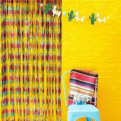 Multi Coloured Foil Curtain Backdrop