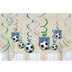 Championship Soccer Decorations Swirls