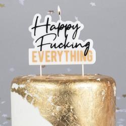 Happy Fucking Everything Candle