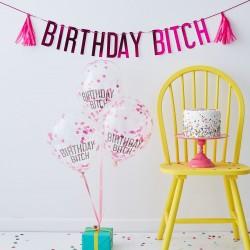 Birthday Bitch Bunting Kit