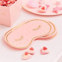 Pink Pamper Party Paper Napkins