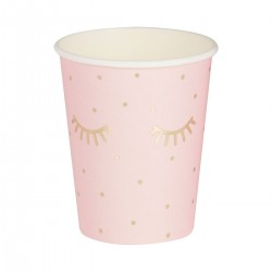 Pink Pamper Party Paper Cups