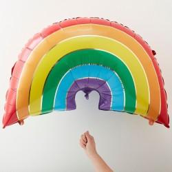 Rainbow Foil Balloon