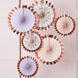 Floral Fan Tea Party Decorations