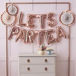 Lets Partea Balloon Bunting