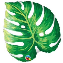 """Tropical Philodendron Foil Balloon 21"""""""