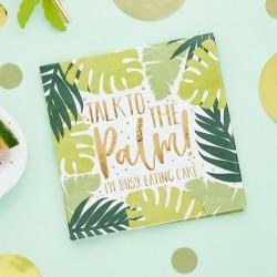 Tropical Leaf Paper Napkins
