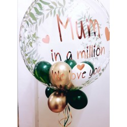 Mother's Day Balloon, Mum in a Million We love You Balloon